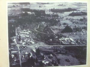 Arial of Boring Oregon in the early days