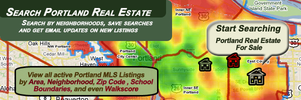 Search the entire Portland Oregon's listing of Homes for sale by neighborhoods, zip codes, school boundaries, and even Walkscores.